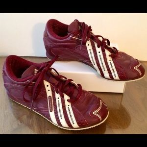 Adidas shoes/sneakers, vintage style, women's 6